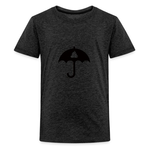 Shit icon Black png - Teenage Premium T-Shirt
