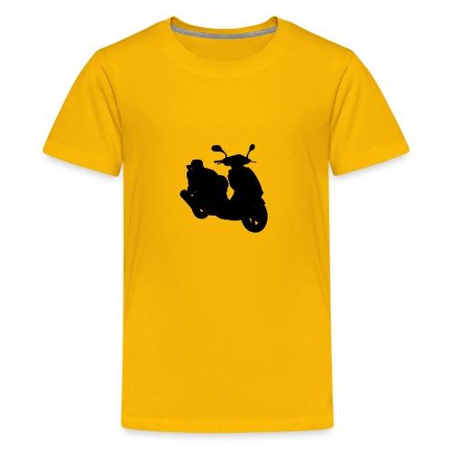 Daelim Otello Silhouette von vorne rechts - Teenager Premium T-Shirt