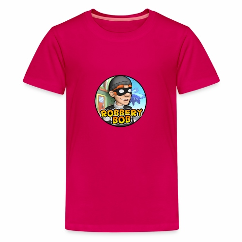 Robbery Bob Button - Teenage Premium T-Shirt