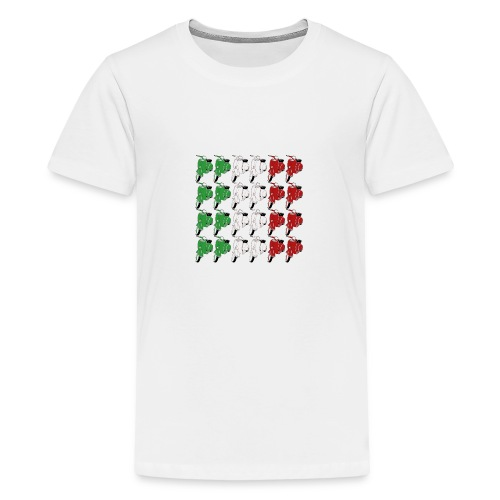 Italian_flag-png - Maglietta Premium per ragazzi