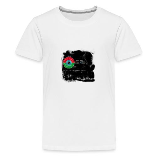 particlesmad-png - Camiseta premium adolescente