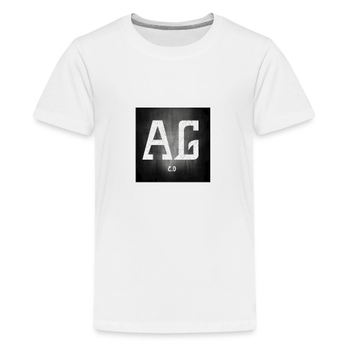 AGLOGO20-png - Teenager Premium T-shirt