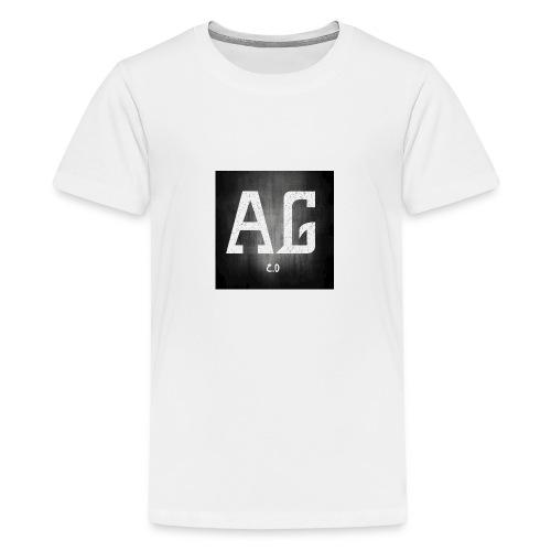 AGLOGO20-png - Teenager Premium T-shirt