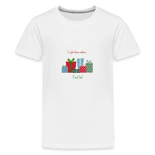 Le plus beau cadeau - T-shirt Premium Ado