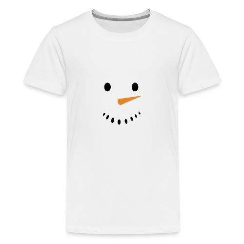 Bonhomme de neige Noël Hiver - T-shirt Premium Ado