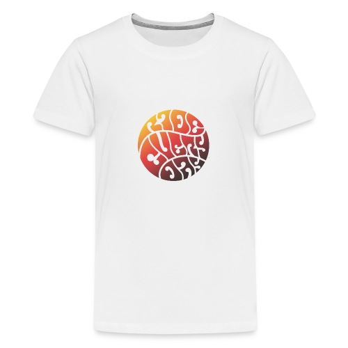 HIPPIERED-jpg - Camiseta premium adolescente