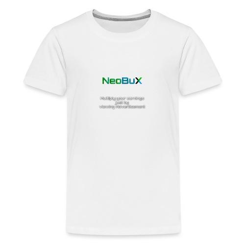 NeoBuX - Teenage Premium T-Shirt