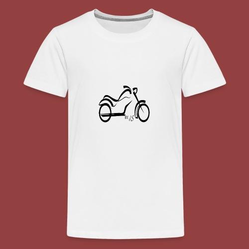 moto - Camiseta premium adolescente