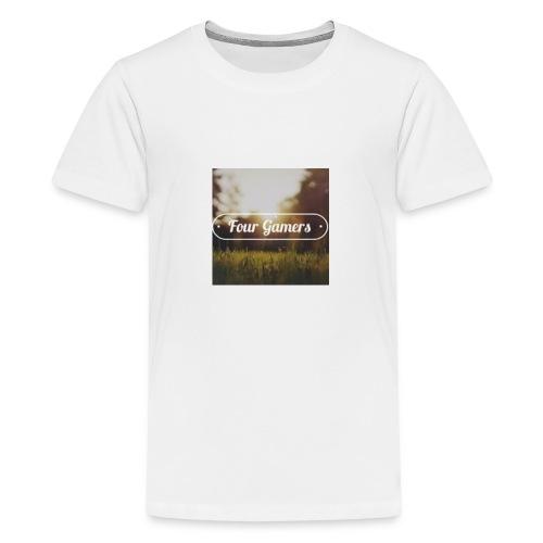 Four Gamers Mok - Teenager Premium T-shirt