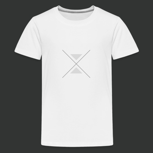 triangles-png - Teenage Premium T-Shirt