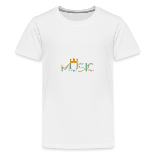 Music Bag - Camiseta premium adolescente