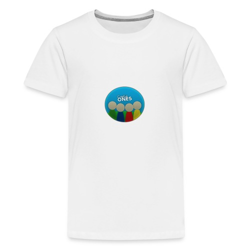 Creative Ones Logo - Teenage Premium T-Shirt