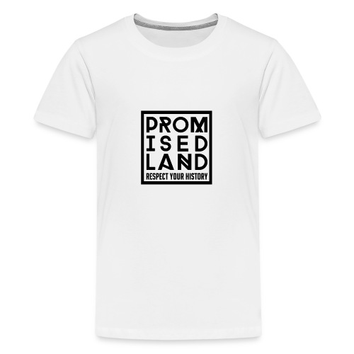 Limited Edition Promised Land 12th Birthday White - Teenage Premium T-Shirt
