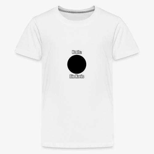Klick mich, sehr wichtig! - Teenager Premium T-Shirt