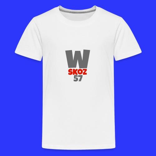 Sac Watiskoz Officiel - T-shirt Premium Ado