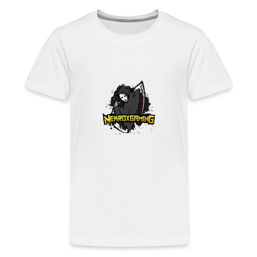 NekroxGaming Coffee - Teenage Premium T-Shirt