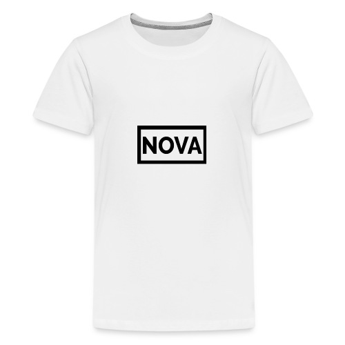 Red Nova Snapback - Teenage Premium T-Shirt