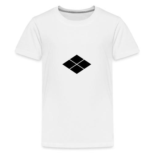Takeda kamon Japanese samurai clan - Teenage Premium T-Shirt