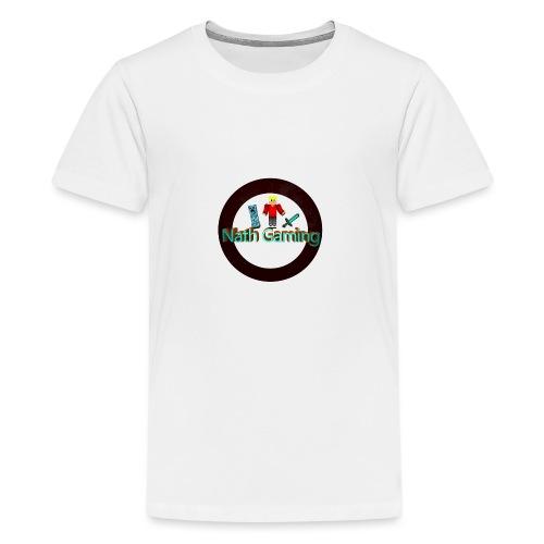 NathGaming - Teenage Premium T-Shirt