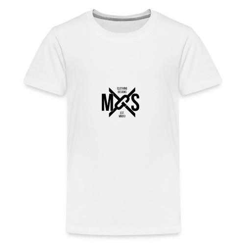 MGS Logo Phone png - Teenage Premium T-Shirt