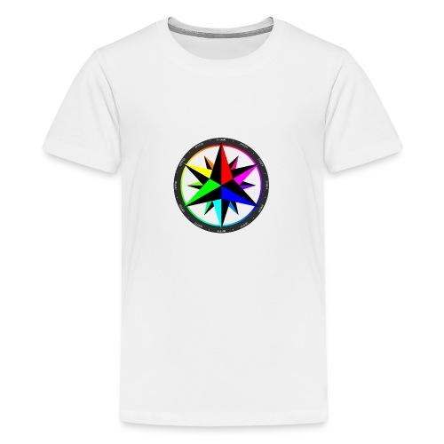 ColorCompass - Teenage Premium T-Shirt