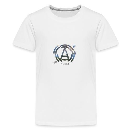 AlphaOfficial Logo T-Shirt - Teenage Premium T-Shirt