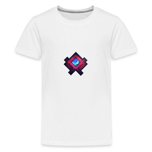Abstract Square #2 - Teenage Premium T-Shirt