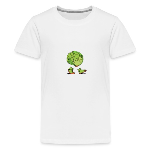 Lettuce Move On - Teenage Premium T-Shirt