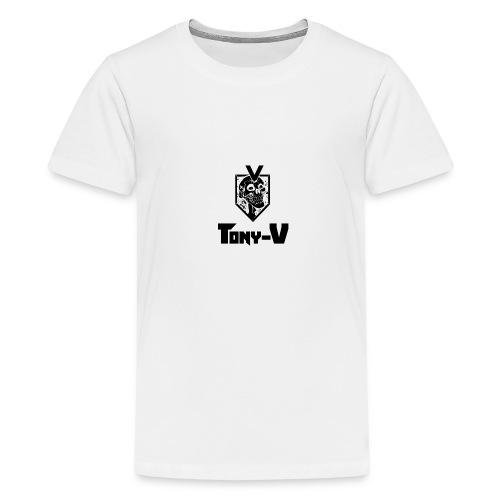 Tony V Tee-SHIRT H Blanc - T-shirt Premium Ado