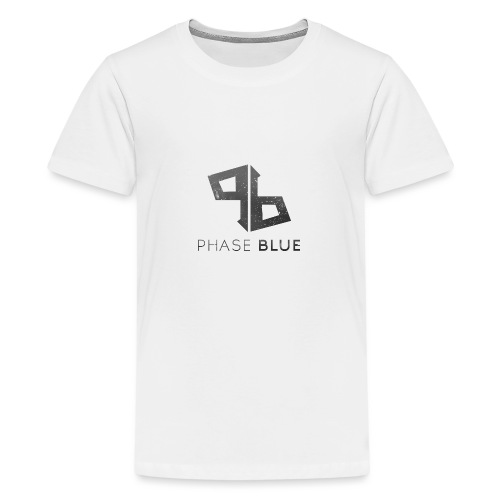 Phase Blue Baseball Shirt - Teenage Premium T-Shirt