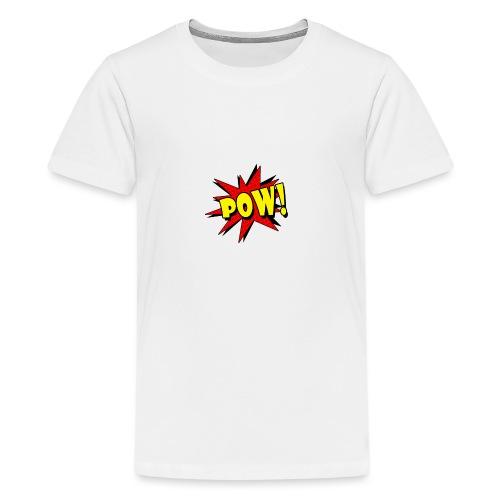 Pow! - Teenage Premium T-Shirt