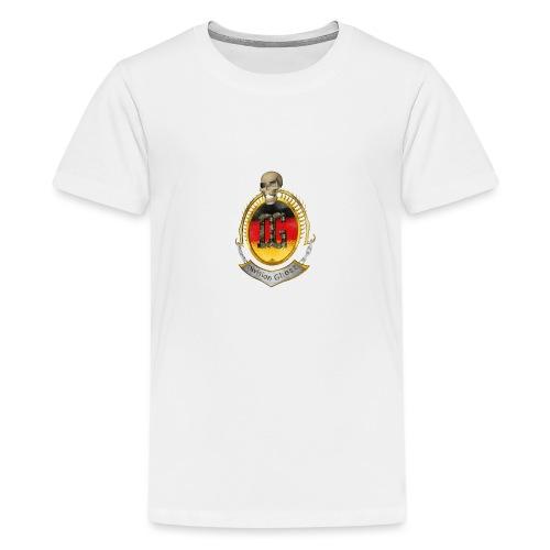 clanwappen2000x2000 01 gif - Teenager Premium T-Shirt