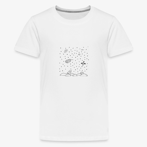 Above the baby sky - T-shirt Premium Ado