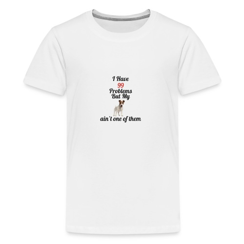 99 Problems but not Jack - Teenage Premium T-Shirt