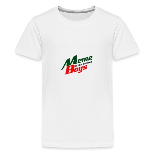 Memeboys Logo Shirt - Teenage Premium T-Shirt