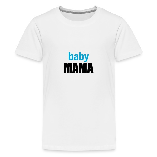 Baby boy mum mug - Teenage Premium T-Shirt