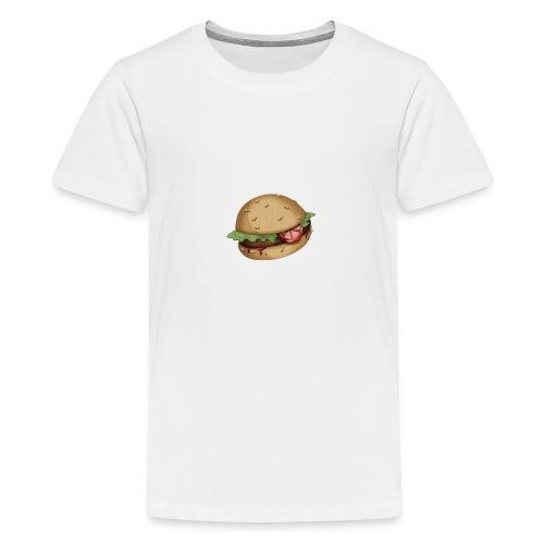 Burger - T-shirt Premium Ado