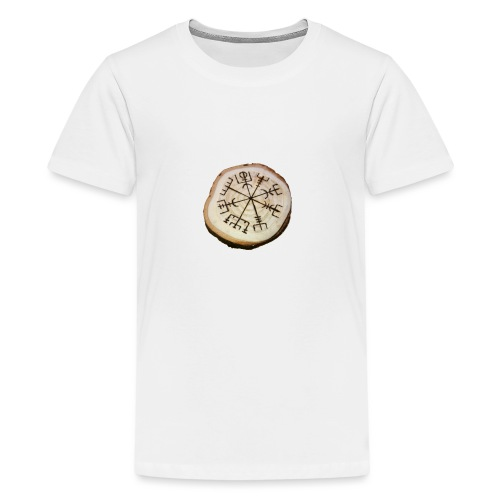 VHEH - Vegvísir - Teenage Premium T-Shirt