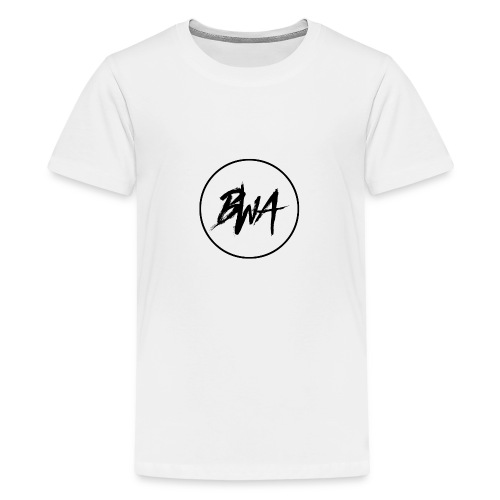 BWA Circle - Teenage Premium T-Shirt