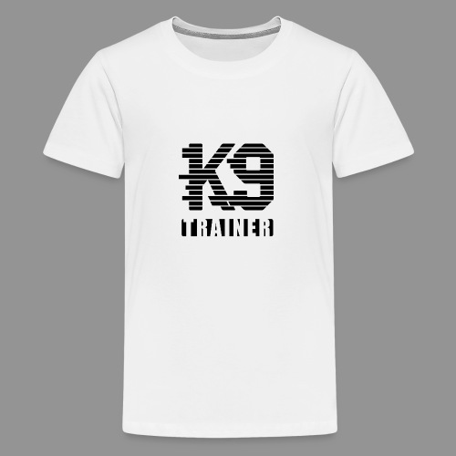 k9-trainer - Teenage Premium T-Shirt