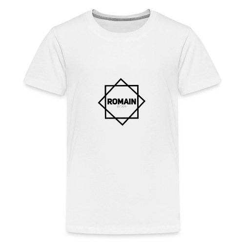 Romains Classic Black & White - Teenage Premium T-Shirt