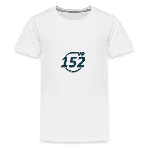 152VO Klassenzeichen petrol ohne Text - Teenager Premium T-Shirt