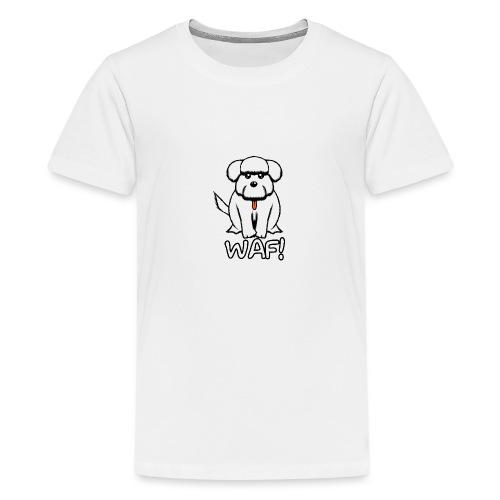 Puppy waf! - Camiseta premium adolescente