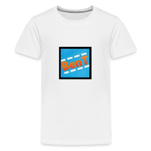 BenT Profil Bilde - Premium T-skjorte for tenåringer