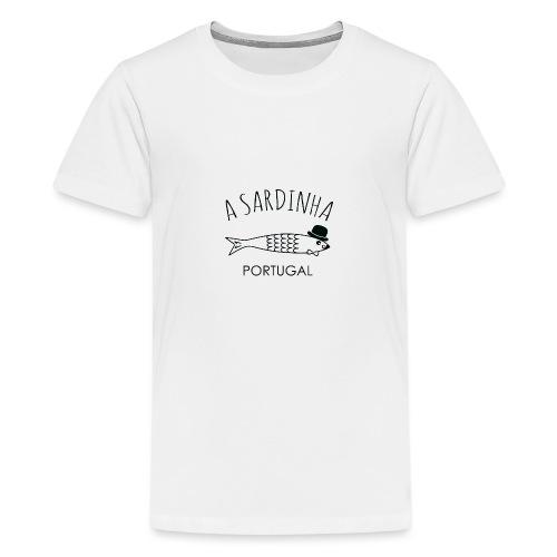 A Sardinha - Portugal - T-shirt Premium Ado