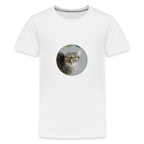 Hippe Katzentasche - Teenager Premium T-Shirt