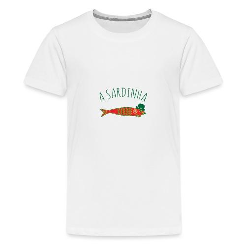 A Sardinha - Bandeira - T-shirt Premium Ado