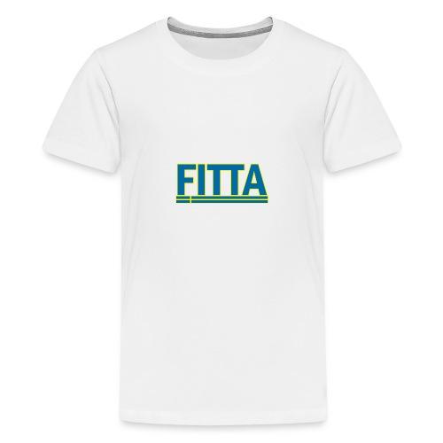 fitta 1 png - Teenager Premium T-Shirt
