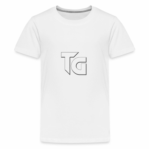 TG mearch png - Teenager Premium T-shirt