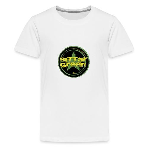 Sittar T-Shirt (Green cilcle) - Camiseta premium adolescente